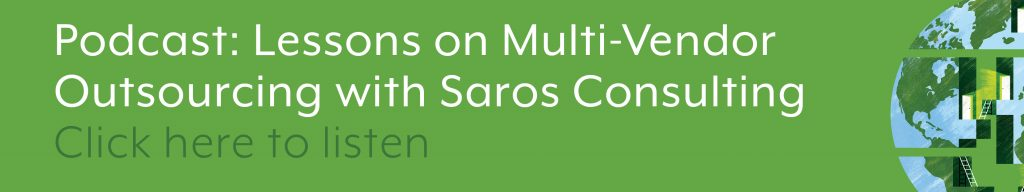 Lessons on Multi-Vendor Outsourcing with Saros Consulting